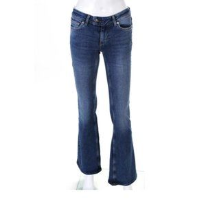 Free People We The Free Low Rise Boot Cut Jeans
